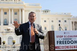 國會議員希斯宣佈挑戰佐州州務卿 特朗普力挺【影片】