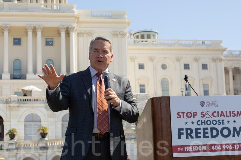 國會議員希斯宣佈挑戰佐州州務卿 特朗普力挺