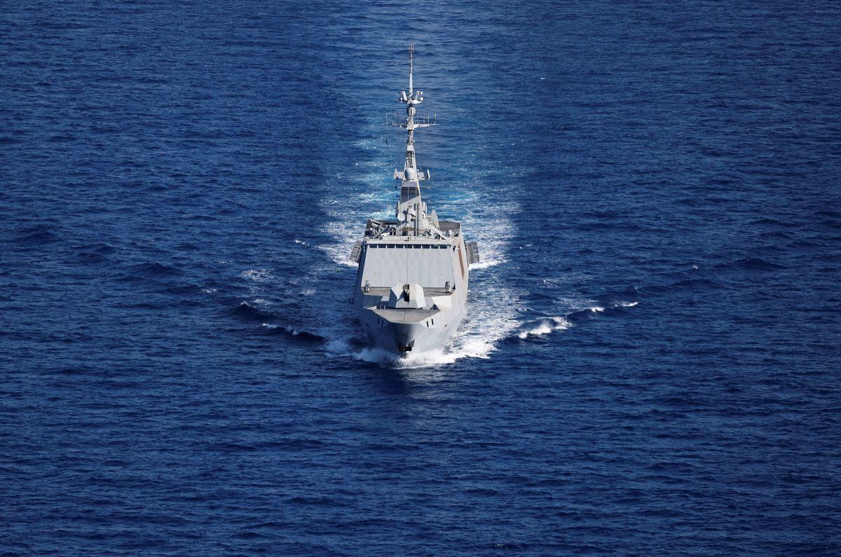 中共對人權的打壓和在南中國海的挑釁行動引發西方國家不滿。法國已經向印太地區派遣軍艦,對抗中共威脅。圖為一艘法國戰艦資料照。(THOMAS COEX/AFP via Getty Images)