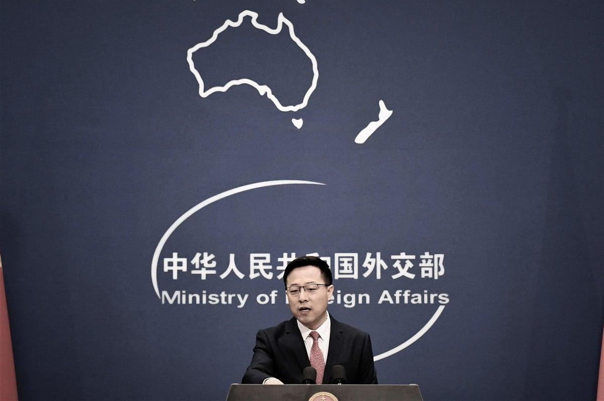 中共外交部發言人趙立堅。(GREG BAKER/AFP via Getty Images)