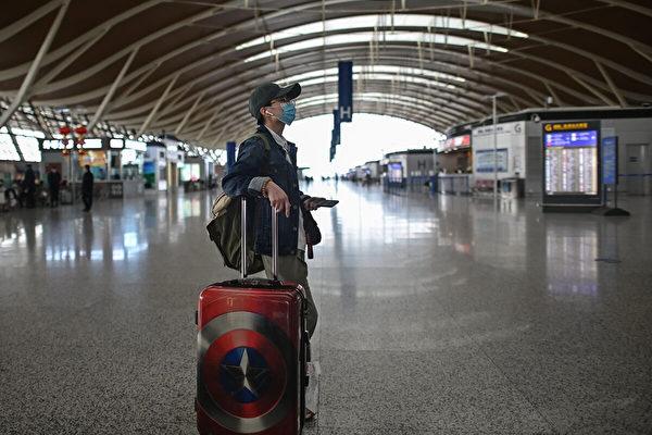 中共慣用人質外交手段,這類個案的一個普遍模式是:這些無辜人士在機場準備上飛機前被攔截並扣押,之前他們並不知道自己不可以離開中國。(Getty Images)