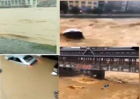 【影片】湖北建始洪水滾滾 發最高級防汛響應