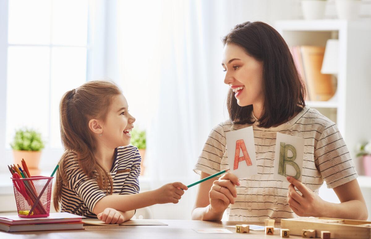 孩子們在進幼兒園之前就可以很容易地學會閱讀。(Shutterstock)