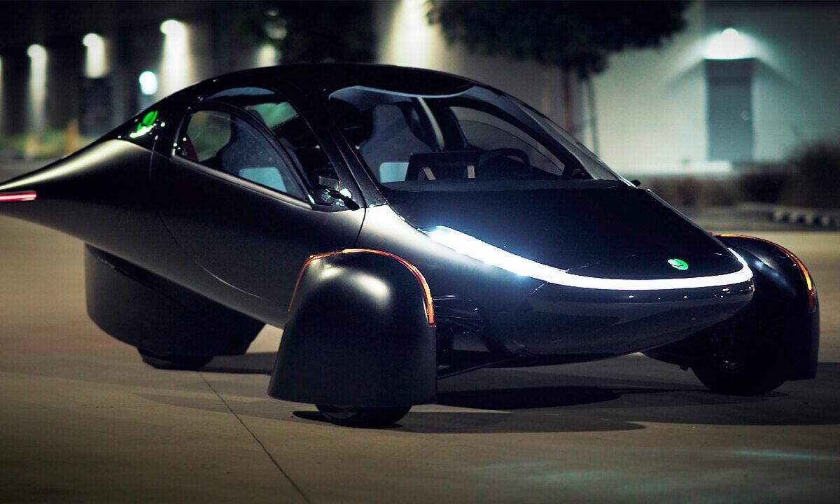 總部位於加州的Aptera汽車公司認為自己已經成功研製出了一種「永不需充電」的太陽能電動汽車。(Aptera汽車公司提供)
