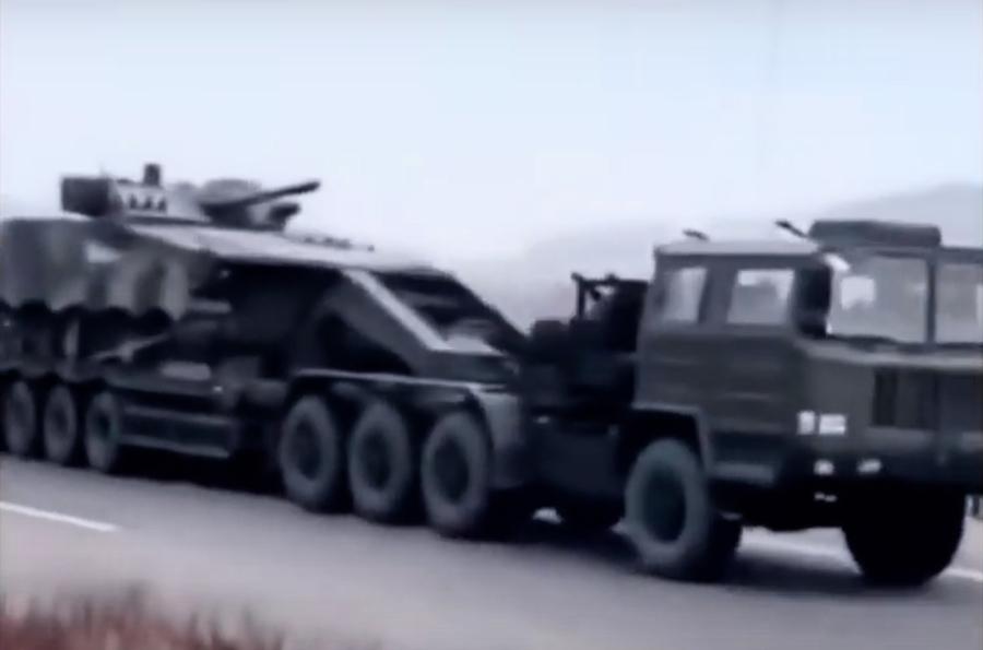 疫情和金正恩傳言令邊境緊張 軍備運往丹東