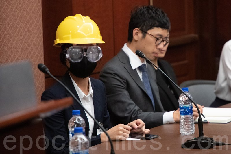 9月17日,「自由之家」在美國國會舉辦簡報會,邀請香港民主運動的參與者分享前線聲音。(林樂予/大紀元)