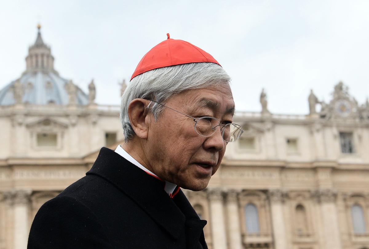 香港退休樞機主教陳日君隻身前往羅馬見教宗「進諫」,但教宗拒絕接見,圖為資料圖。(Getty Images)