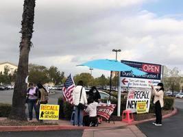 逾150萬加州人簽名 罷免州長紐森進入關鍵期