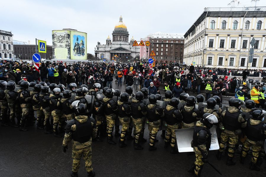 俄羅斯反對派再發起全國抗議 逾4500人被抓