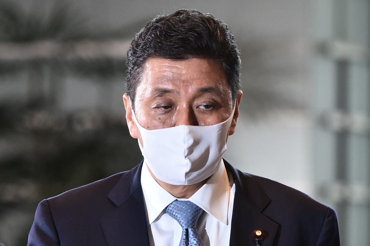 岸信夫(Nobuo Kishi)2020年9月16日被任命為日本防衛大臣。(KAZUHIRO NOGI/AFP via Getty Images)