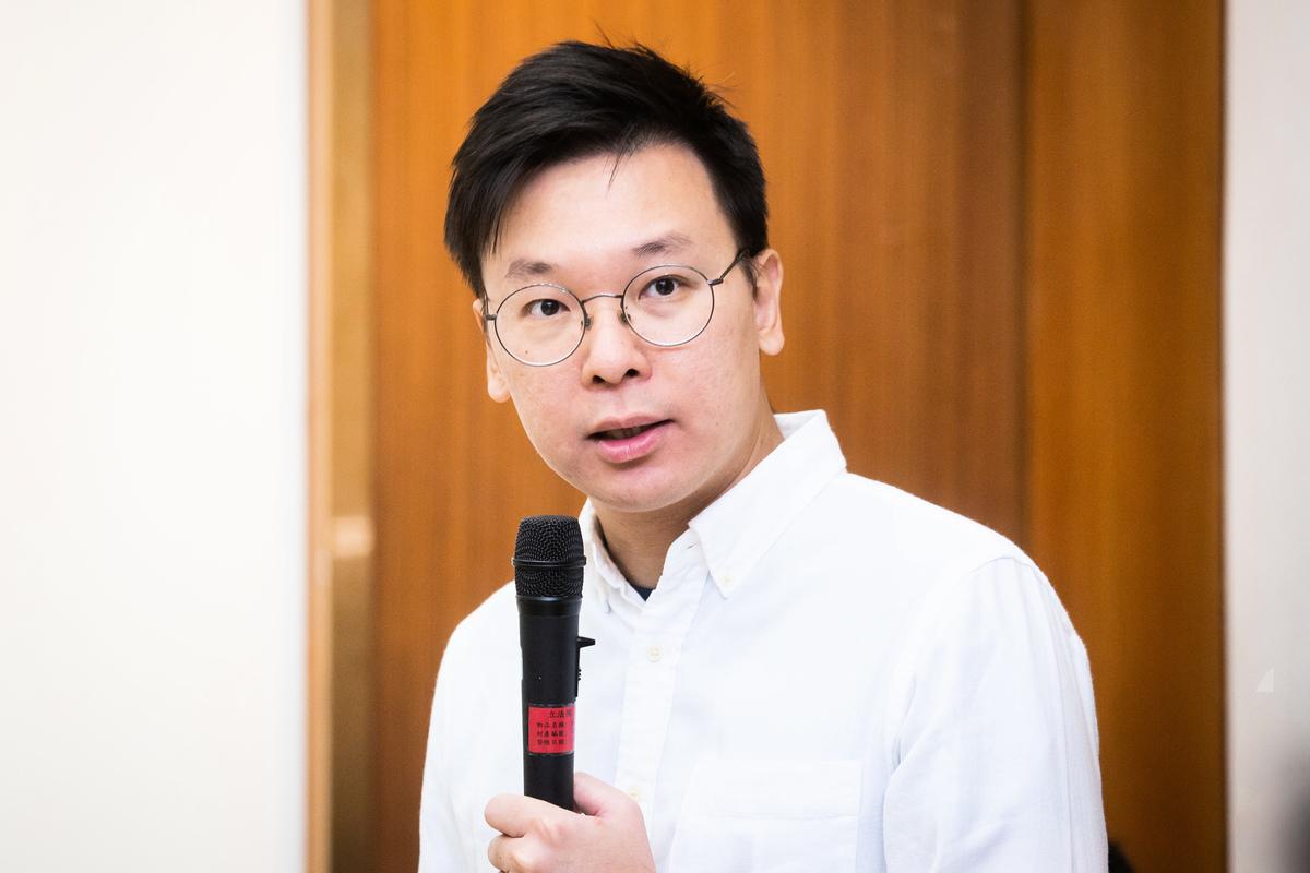 民進黨副秘書長林飛帆2日表示,中共不只在北京天安門有閱兵大典,香港流血衝突事件就是中共在香港的「血腥閱兵」,已經觸犯國際社會的道德底線。(陳柏州/大紀元)