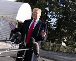 美貿易代表團抵京 特朗普對談判表樂觀