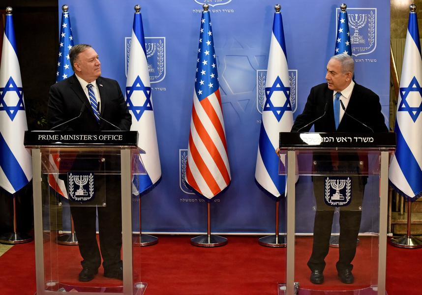 蓬佩奧冀更多阿拉伯國家與以色列關係正常化