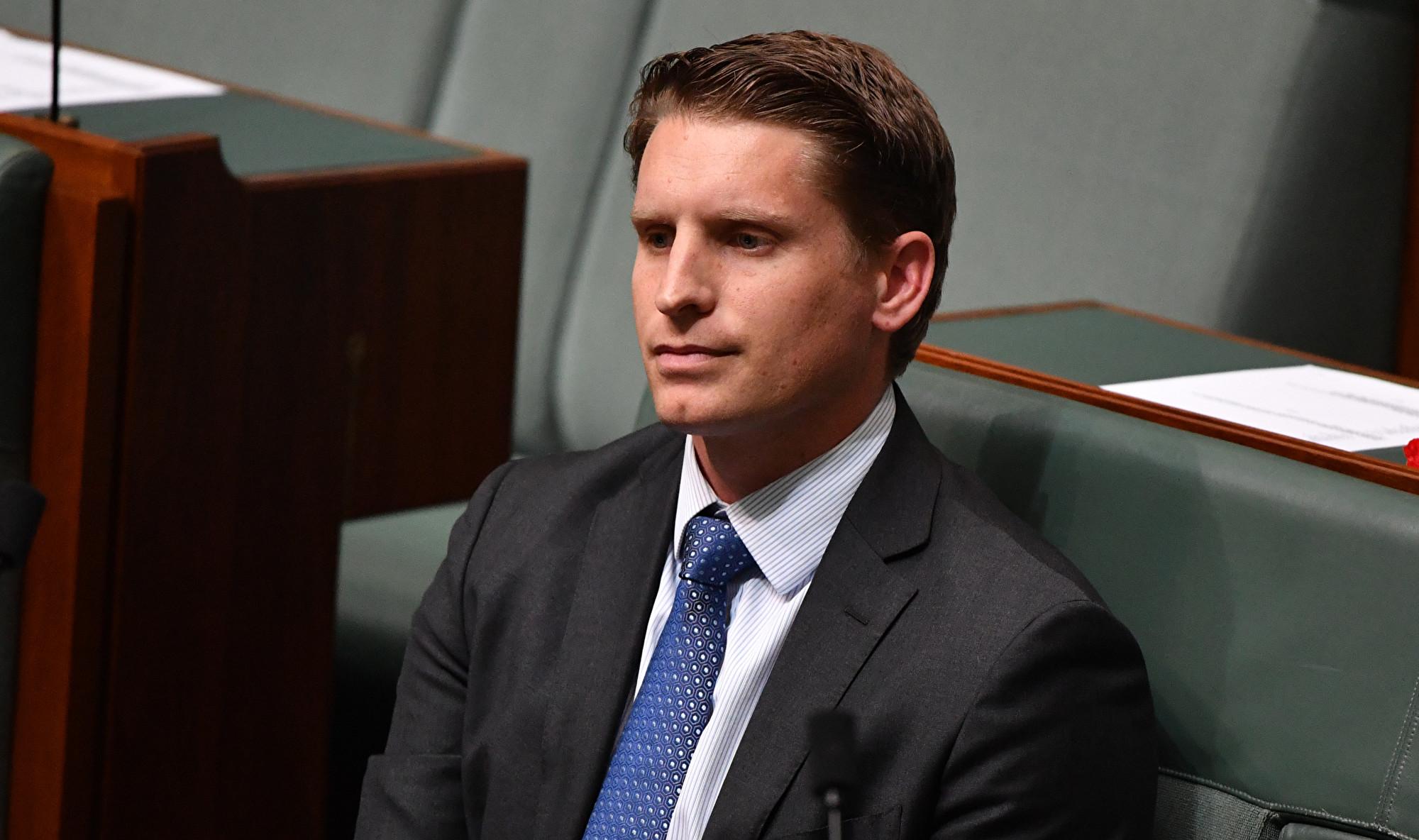 澳洲議會情報與安全聯合委員會主席哈斯蒂(Andrew Hastie)。資料圖片。(澳新社)
