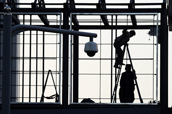 中共對於負面言論的監控越來越嚴格。(FREDERIC J. BROWN/AFP/Getty Images)