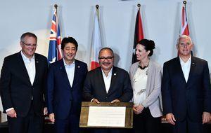 遏制中共影響力 紐西蘭聯合盟國建巴新電網