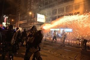 9.21元朗恐襲2個月 港人集會遭清場