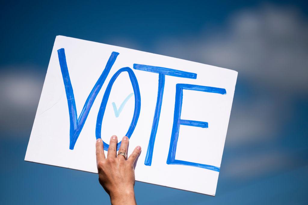 美國總統大選投票日當天沒有公佈結果,隨後曝出,在格魯吉亞(Georgia)、密歇根、賓州等搖擺州出現作弊行為。(Stephen Maturen/Getty Images)