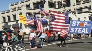 支持度與投票結果相悖 加州選民:特朗普不可能輸
