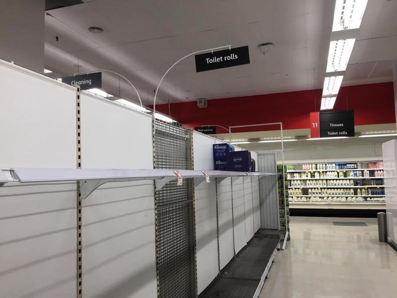 中共肺炎疫情下澳洲人忙囤貨 專家籲不要盲目搶購