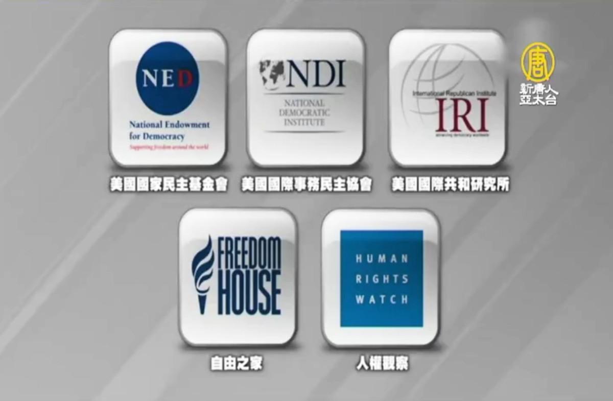 圖為2019年遭中共外交部報復、被禁止在中國活動的美國非政府組織(NGO)國際事務民主協會。(授權影片截圖)