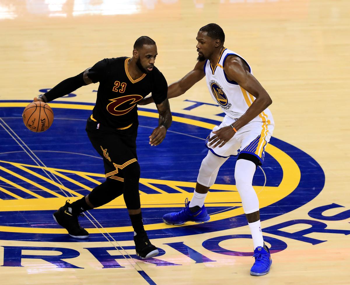 NBA比賽現場。(Ronald Martinez/Getty Images)