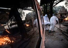 疫情加劇 印度首都告急 日增2萬5千病例