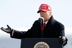 特朗普:彭斯沒勇氣否決選舉人票 美國要求真相
