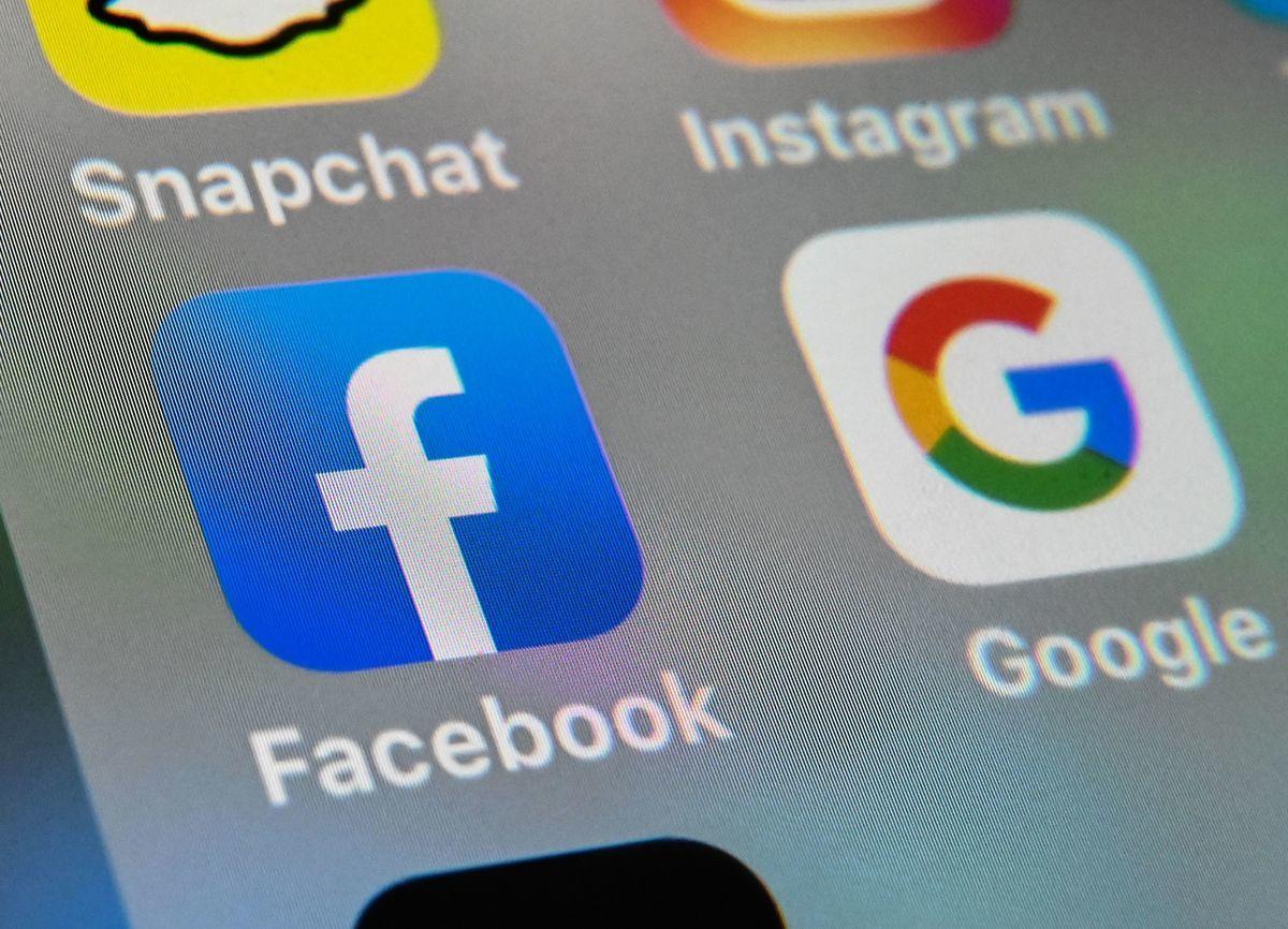澳洲政府在2021年2月推出了《新聞媒體議價法》,其目的是迫使谷歌和Facebook主動和澳洲新聞媒體就其平台引用新聞內容達成商業協議。(DENIS CHARLET/AFP via Getty Images)