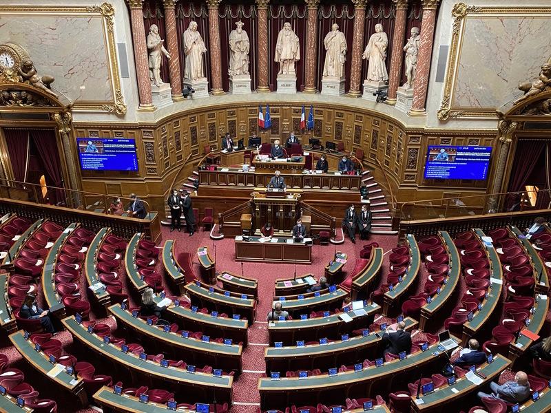 法參議院壓倒性通過 挺台參與國際組織法案