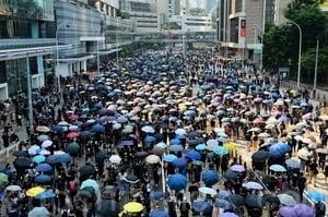 香港送中修訂案正式撤回 港人抗爭腳步未停