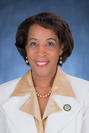 勞登縣委員會主席菲利斯·J·蘭德爾(Phyllis J. Randall)。(勞登縣政府圖片)