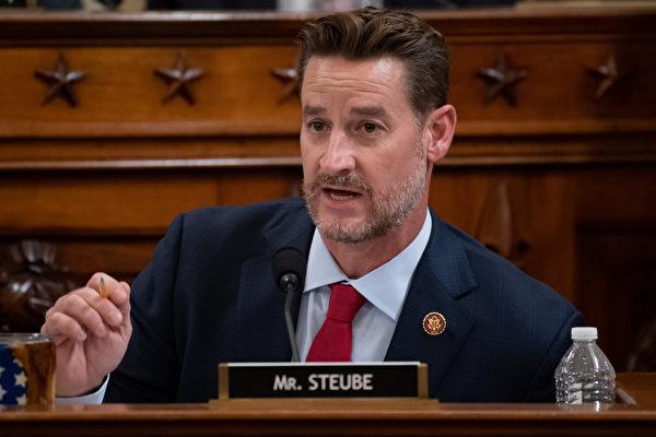 美國佛羅里達州共和黨籍國會眾議員格雷格·斯托伊布(Greg Steube)。(Saul Loeb-Pool/Getty Images)