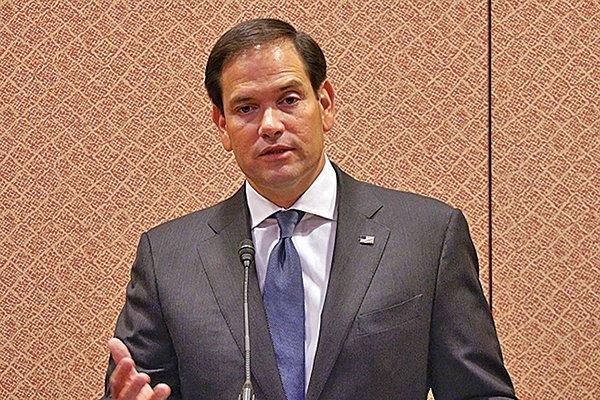 美國共和黨聯邦參議員魯比奧(Marco Antonio Rubio),資料照。(林帆/大紀元)