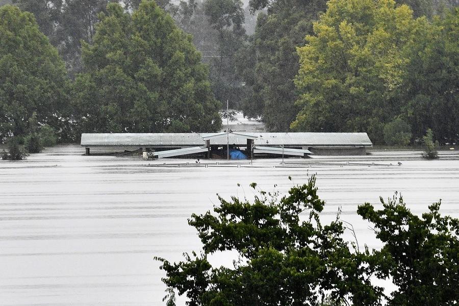澳洲東部豪雨成災 數千人被迫撤離(多圖)