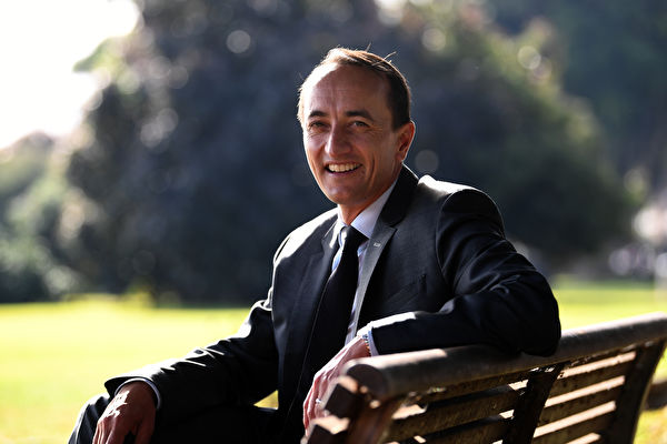 圖為澳洲聯邦議員沙馬(Dave Sharma)。(Dean Lewins/AAP Image)