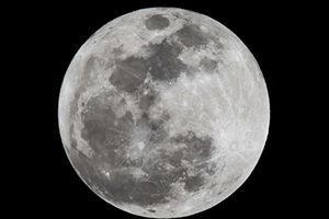 86年間最大 超級月亮在十一月將再現夜空