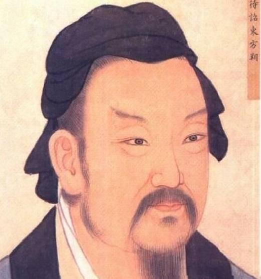 「智聖」東方朔。(網絡圖片)