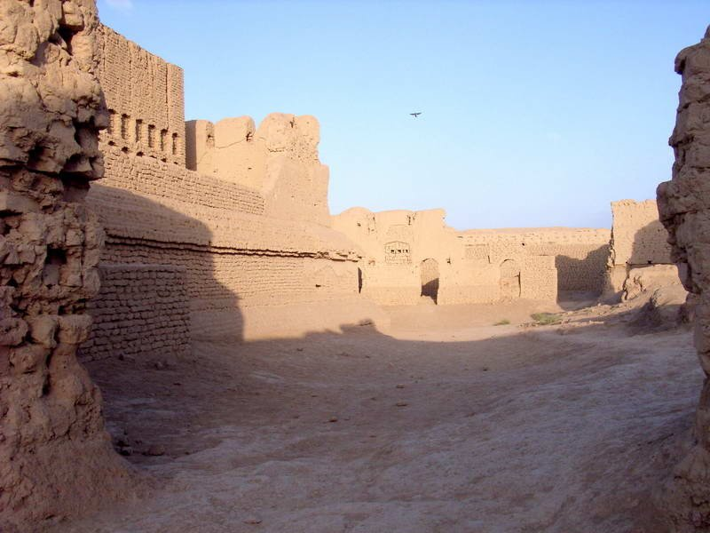 高昌故城,今新疆吐魯番市。(維基百科公共領域)