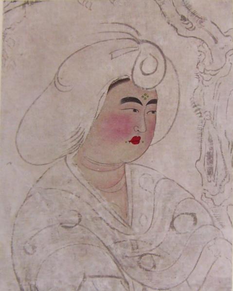 日本奈良東大寺正倉院藏鳥毛立女屏風具有鮮明的唐代風格。(維基百科公有領域)