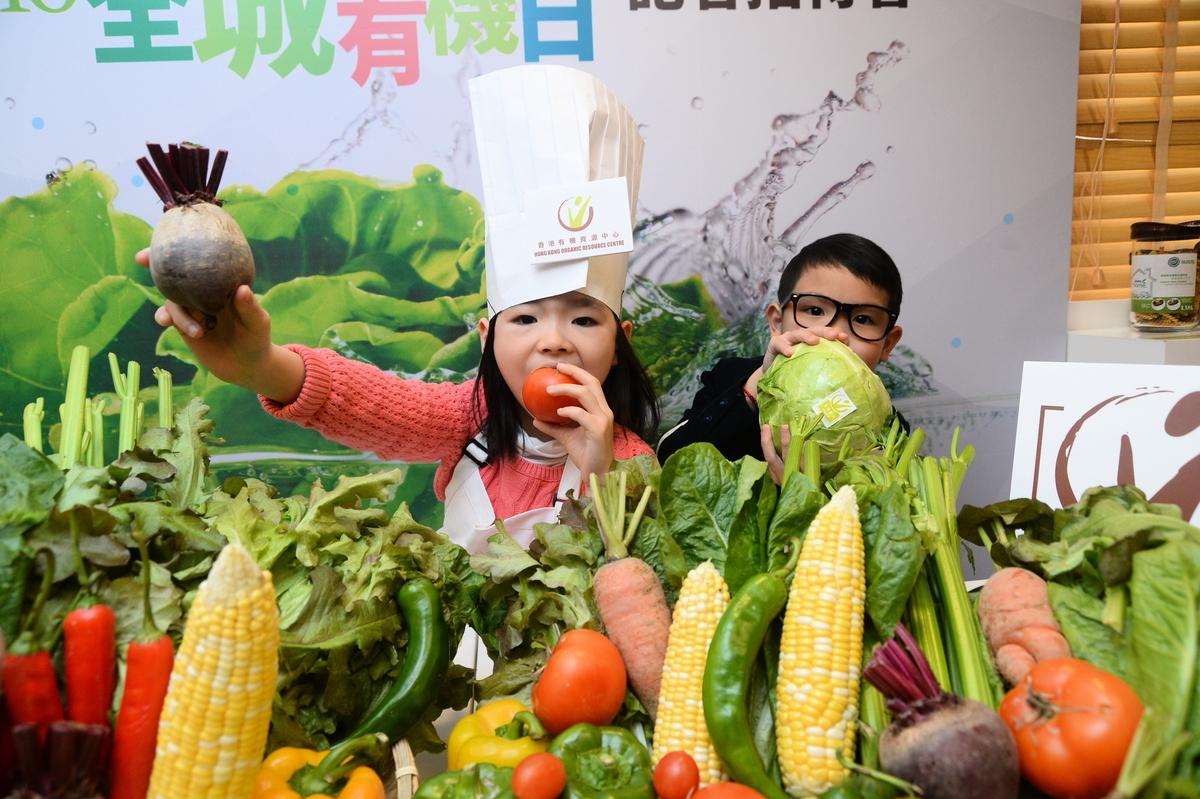 本地有機蔬菜越來越受到歡迎。(大紀元資料圖片)