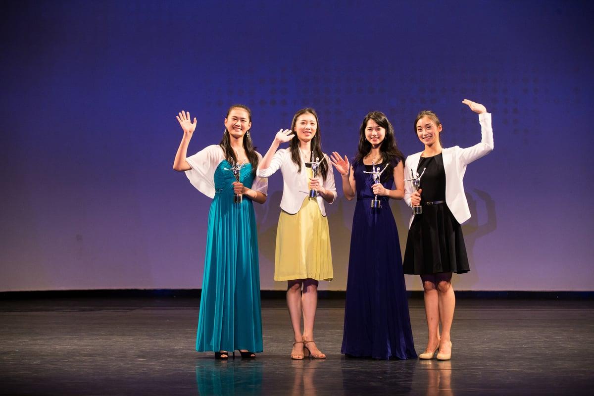 新唐人第七屆「全世界中國古典舞大賽」女子銀獎選手。 (戴兵/大紀元)
