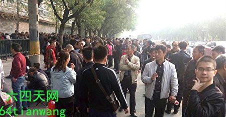 中共六中全會將於10月24日召開,成千上萬訪民年年此時進京上訪,各地截訪人員進京「維穩」。(六四天網)