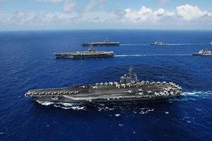 震懾金正恩 美出動核航母與南韓海上軍演