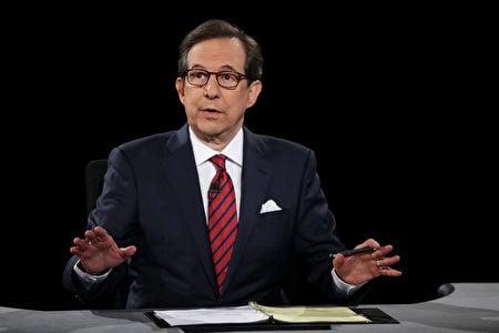 霍士新聞資深主播華萊士擔任第三場大選辯論會支持人。(Joe Raedle/Getty Images)
