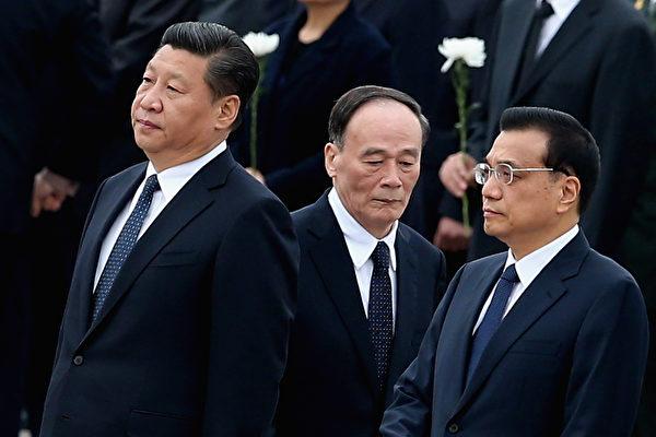 外界傳出的8個版本的中共「十九大」入常名單中,習近平、李克強將留任,王岐山也有望留任。(Feng Li/Getty Images)