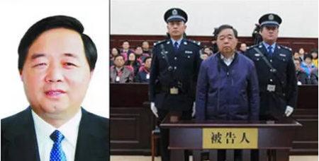 原南京市市長季建業落馬前後對比照。(視像擷圖)