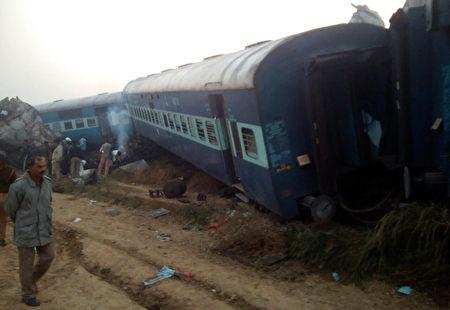 火車出軌意外已造成至少91人罹難,並有逾百人受傷,但傷亡人數可能會再攀升。(AFP PHOTO)