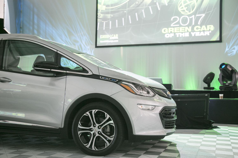 Bolt EV獲選《環保汽車雜誌》的年度環保車。(曹景哲/大紀元)