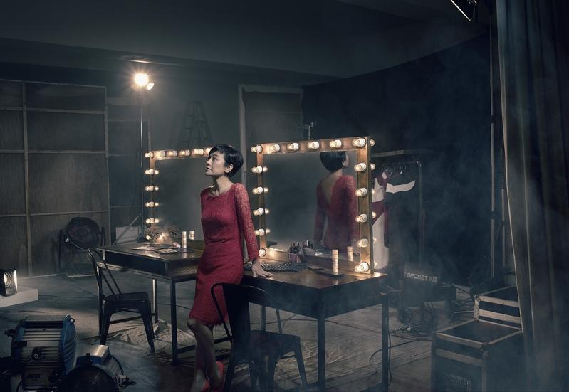 張艾嘉入圍「 金馬52」最佳女主角所拍攝的照片。(金馬執委會提供)